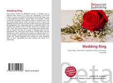 Bookcover of Wedding Ring
