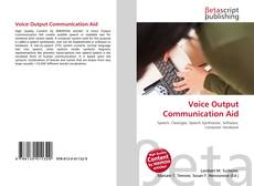 Couverture de Voice Output Communication Aid