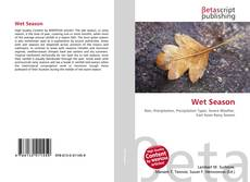 Bookcover of Wet Season