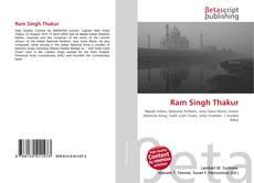 Ram Singh Thakur kitap kapağı