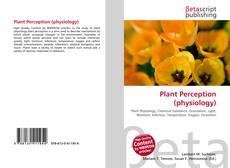 Borítókép a  Plant Perception (physiology) - hoz