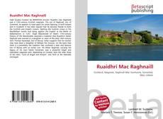 Bookcover of Ruaidhri Mac Raghnaill