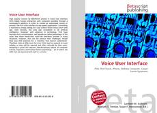 Bookcover of Voice User Interface