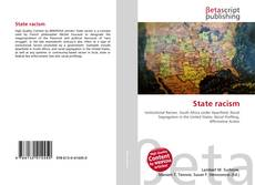 Bookcover of State racism