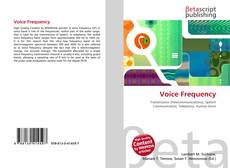 Bookcover of Voice Frequency