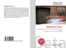 Capa do livro de Statute on Jews