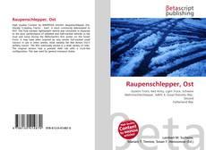 Raupenschlepper, Ost的封面