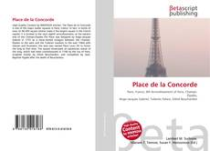 Place de la Concorde kitap kapağı
