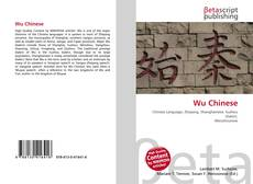 Couverture de Wu Chinese