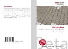 Bookcover of Abstellplatz