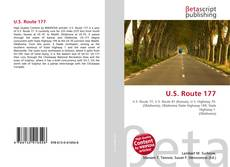 Bookcover of U.S. Route 177