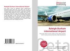 Buchcover von Raleigh-Durham International Airport