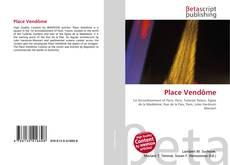 Bookcover of Place Vendôme