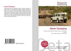 Copertina di Rover Company