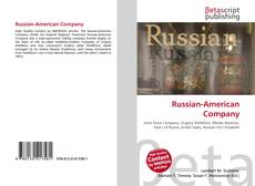 Bookcover of Russian-American Company
