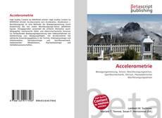 Bookcover of Accelerometrie