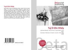 Bookcover of Taj El-Din Hilaly