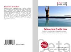 Capa do livro de Relaxation Oscillation