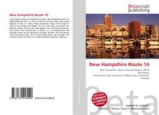 Bookcover of New Hampshire Route 16