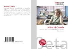 Couverture de Voice of Croatia