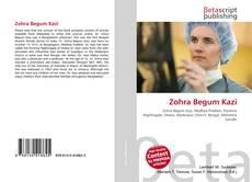 Bookcover of Zohra Begum Kazi