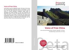 Voice of Free China kitap kapağı