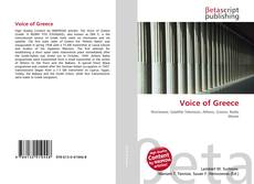 Voice of Greece kitap kapağı