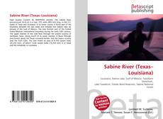 Обложка Sabine River (Texas–Louisiana)