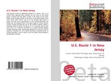 Buchcover von U.S. Route 1 in New Jersey