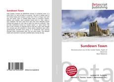 Bookcover of Sundown Town