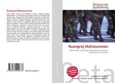 Bookcover of Ruangroj Mahasaranon