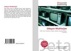 Udayan Mukherjee的封面