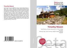 Bookcover of Timothy Mason