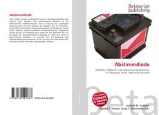 Bookcover of Abstimmdiode
