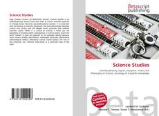 Bookcover of Science Studies