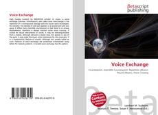 Buchcover von Voice Exchange