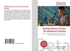 Bookcover of Stanley Burton Centre for Holocaust Studies
