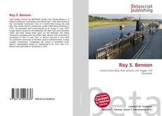 Bookcover of Roy S. Benson