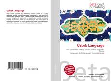 Bookcover of Uzbek Language