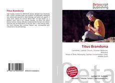 Bookcover of Titus Brandsma