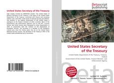 Bookcover of United States Secretary of the Treasury