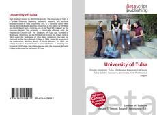 Capa do livro de University of Tulsa