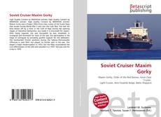 Capa do livro de Soviet Cruiser Maxim Gorky