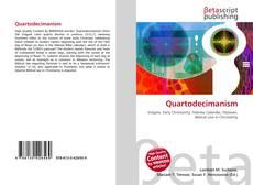Bookcover of Quartodecimanism