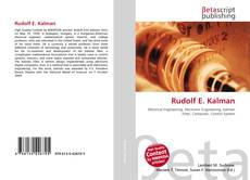 Couverture de Rudolf E. Kalman