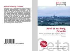 Buchcover von Abtei St. Walburg, Eichstätt