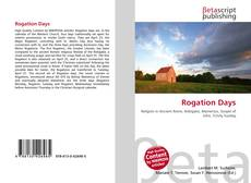 Bookcover of Rogation Days