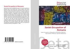 Capa do livro de Soviet Occupation of Romania