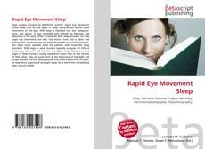 Rapid Eye Movement Sleep kitap kapağı