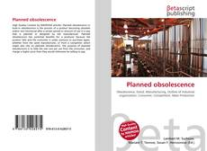 Bookcover of Planned obsolescence